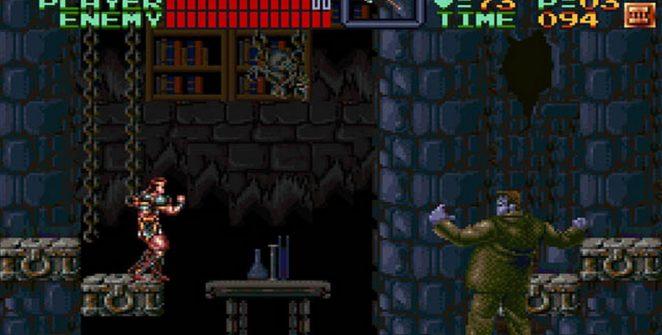 Super Castlevania IV - SNES password e codici videogame