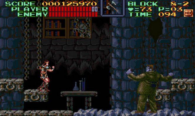Super Castlevania IV SNES videogame