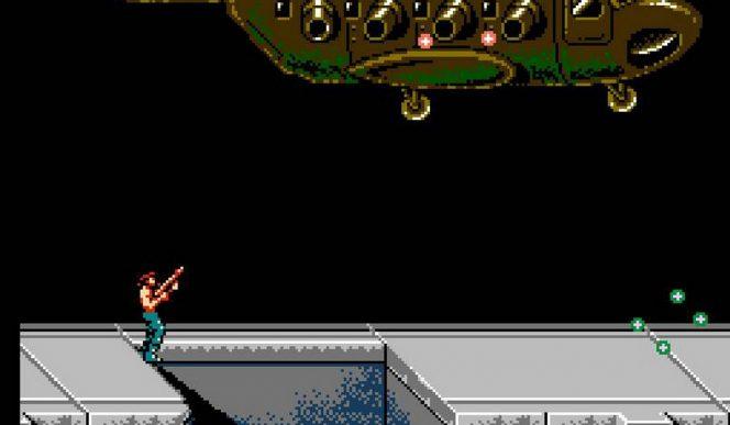 Super Contra NES videogame