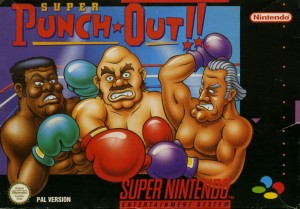 Super Punch-Out!! SNES box cover