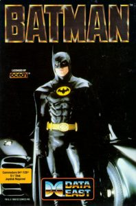 Batman The Movie - Commodore 64 password e codici