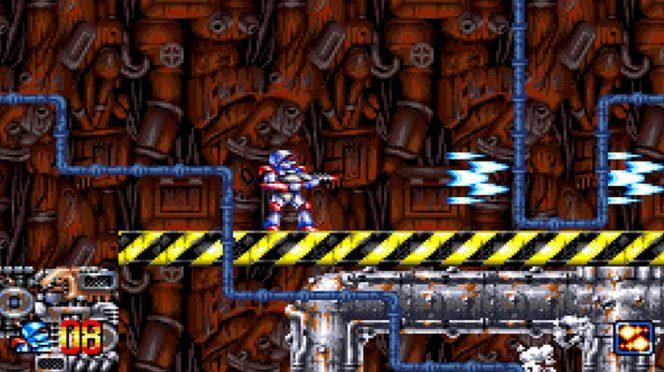 Super Turrican - SNES trucchi e codici videogame