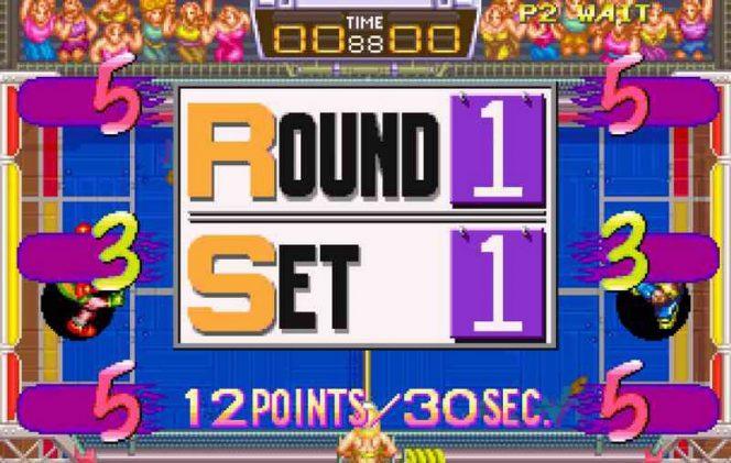 Windjammers Neo Geo videogame