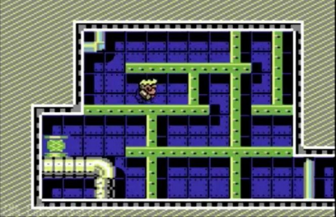Rick Dangerous II Commodore 64 videogame