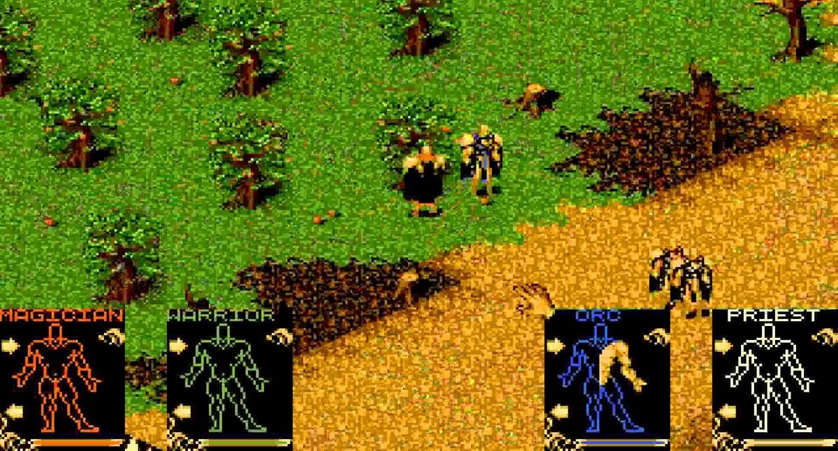 Shadowlands Atari ST videogame