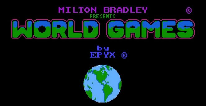 World Games NES videogame
