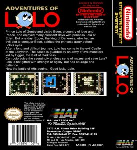 Adventures of Lolo - NES password e codici 2