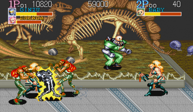 Captain Commando SNES videogame