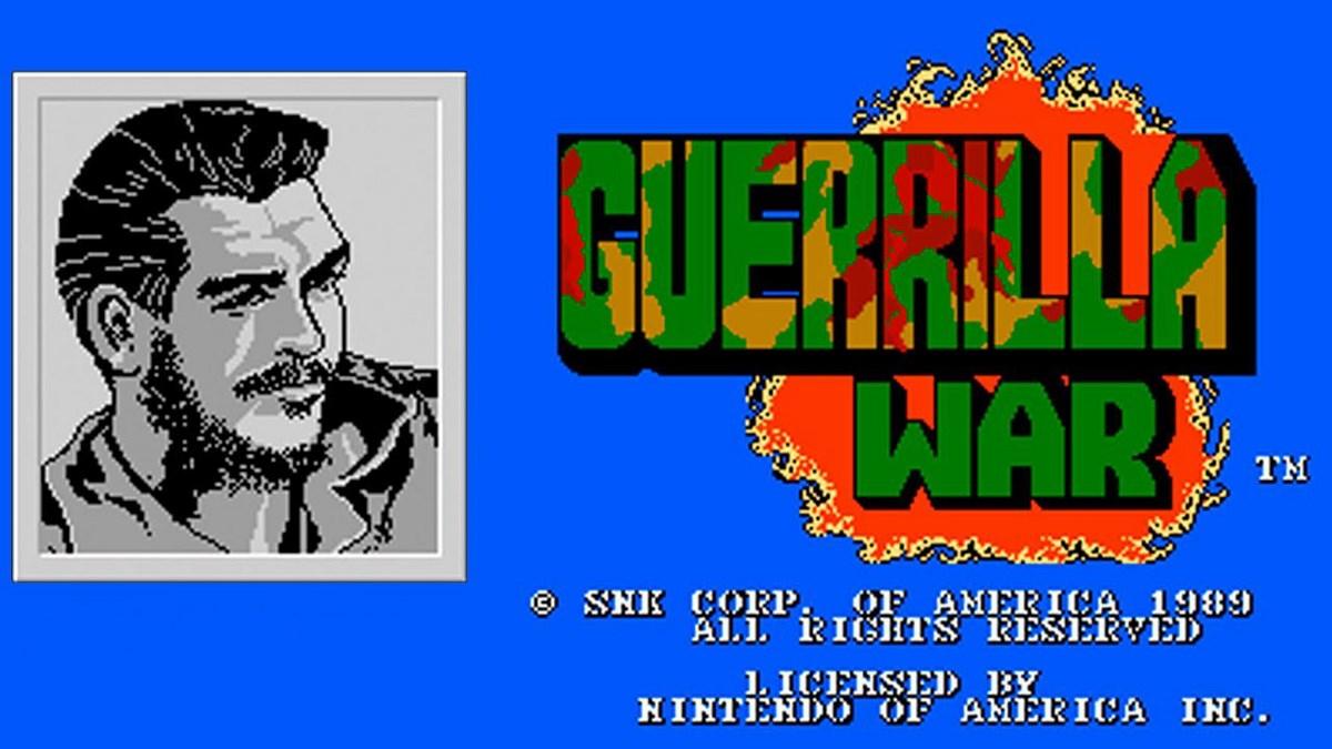 Guerrilla wars nes online study