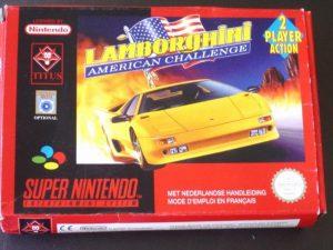Lamborghini American Challenge - SNES trucchi e codici