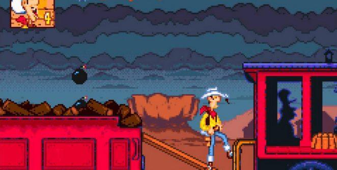 Lucky Luke - SNES password e codici videogame
