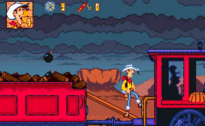 Lucky Luke - SNES password e codici videogame