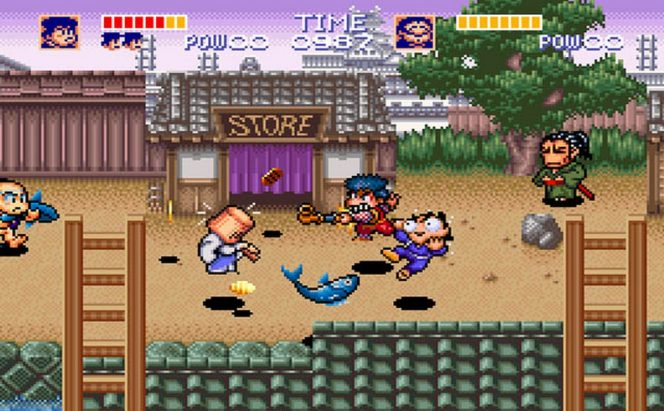 The Legend of the Mystical Ninja - SNES password e codici