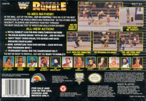WWF Royal Rumble - SNES trucchi e codici