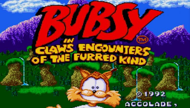Bubsy - SNES password e codici videogame