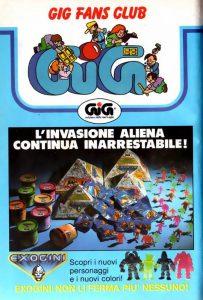 Exogini I misteriosi alieni - GIG pubblicità