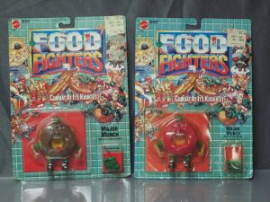 Food Fighters - Mattel box