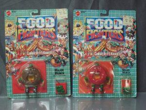 Food Fighters - Mattel box