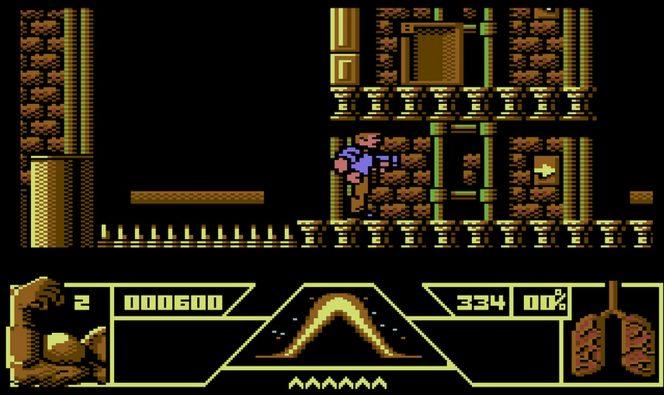 Total Recall - Commodore 64 trucchi e codici videogame