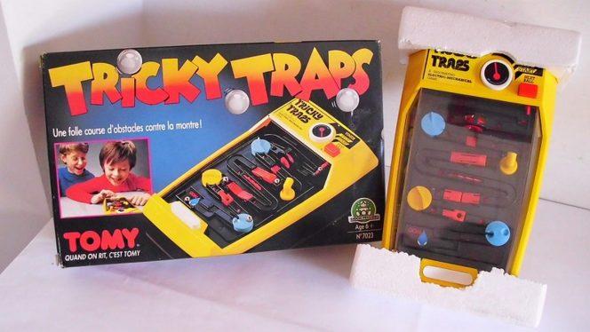 Tricky Traps - TOMY gioco anni 80