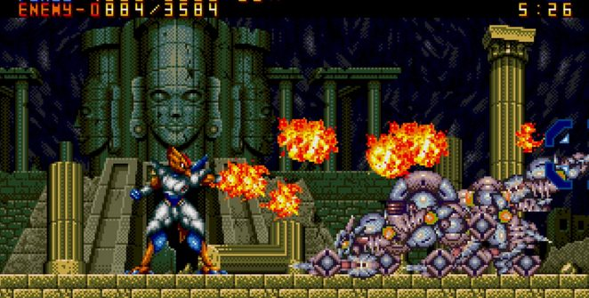 Alien Soldier - Sega Mega Drive password e trucchi videogame