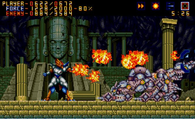 Alien Soldier - Sega Mega Drive password e trucchi videogame