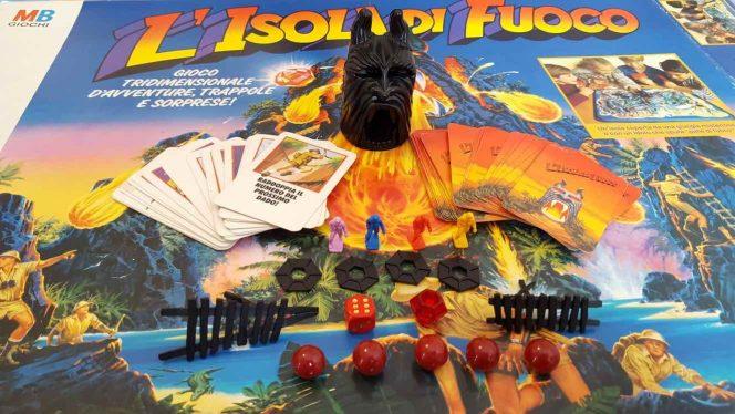 Isola di Fuoco MB gioco tavolo
