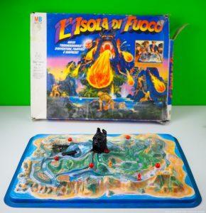 L isola di fuoco, gioco in scatola anni '80 della MB