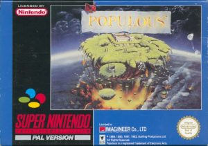 Populous - SNES password dei mondi