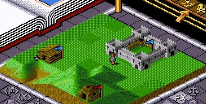 Populous - SNES password dei mondi videogame
