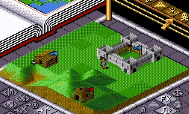 Populous - SNES password dei mondi videogame