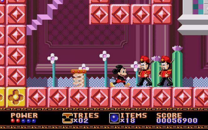 Castle of Illusion - Sega Mega Drive trucchi e codici videogame