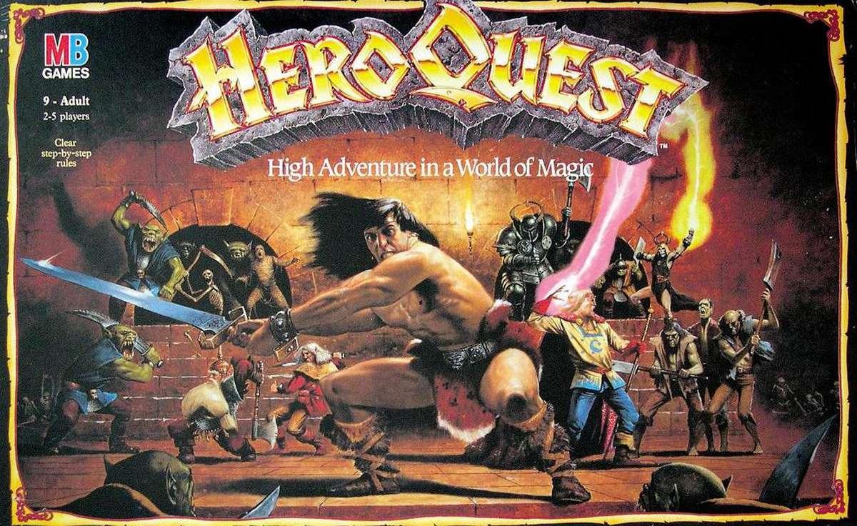 Heroquest gioco da tavolo mb giochi - Dungeon gioco da tavolo ...