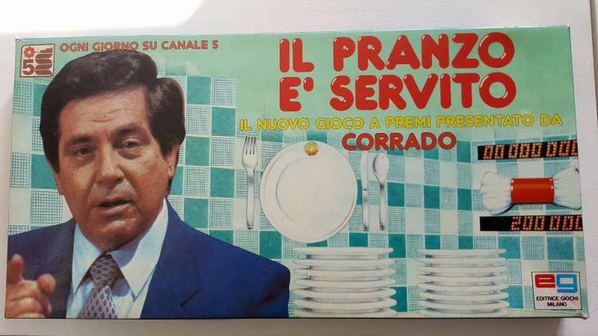 Il pranzo è servito - Editrice Giochi 1985