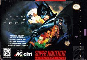 Batman Forever - SNES trucchi e codici