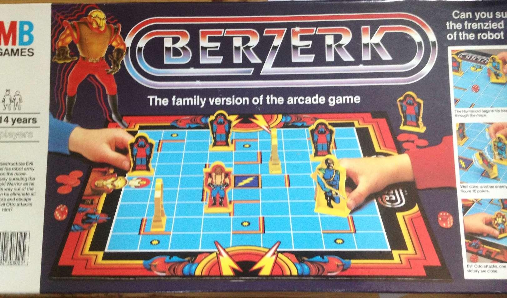 Berzerk gioco da tavolo mb giochi - Blokus gioco da tavolo ...