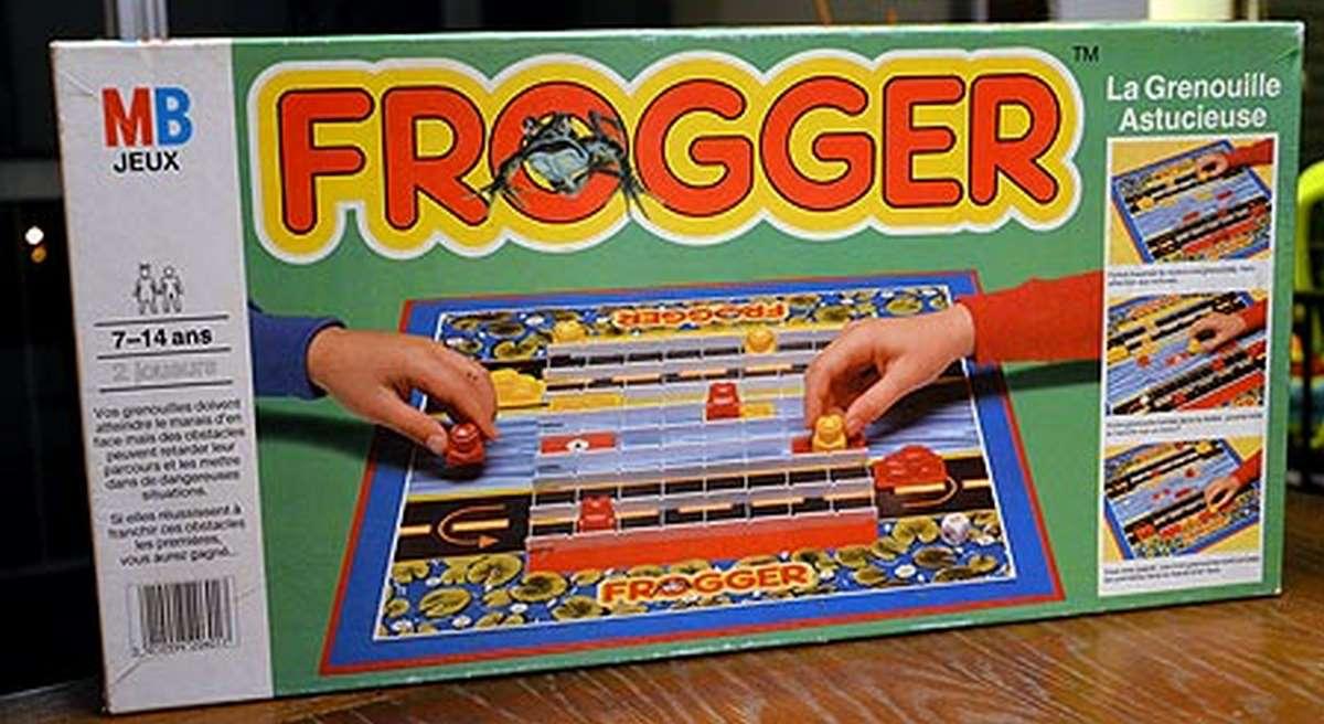 Frogger gioco da tavolo mb giochi - Partini gioco da tavolo ...