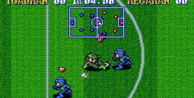 Mega Man Soccer - SNES password e trucchi videogame