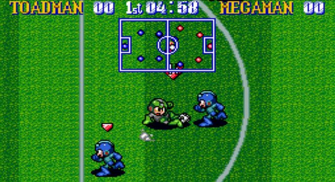 Mega Man Soccer - SNES password e trucchi videogame