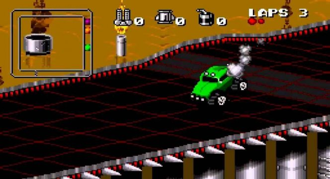 Rock N' Roll Racing - SNES password e trucchi videogame