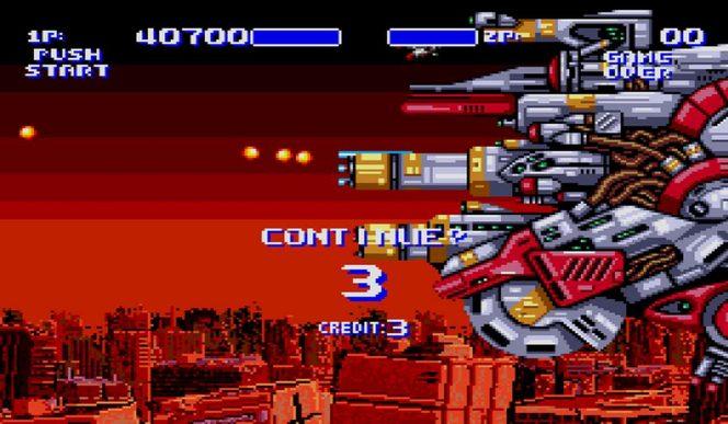 Air Buster - Mega Drive trucchi e codici videogame