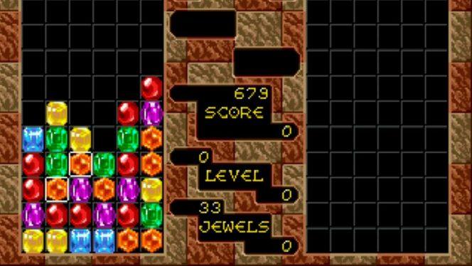 Columns - Sega Mega Drive trucchi e codici videogame