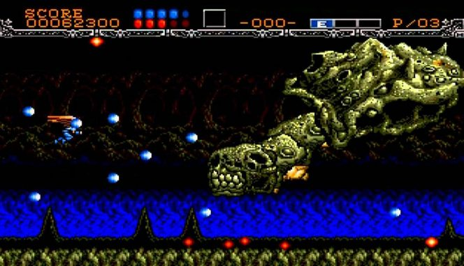 Gynoug - Mega Drive trucchi e codici videogame