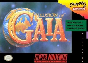Illusion of Gaia - SNES contenuti bonus e trucchi box cover