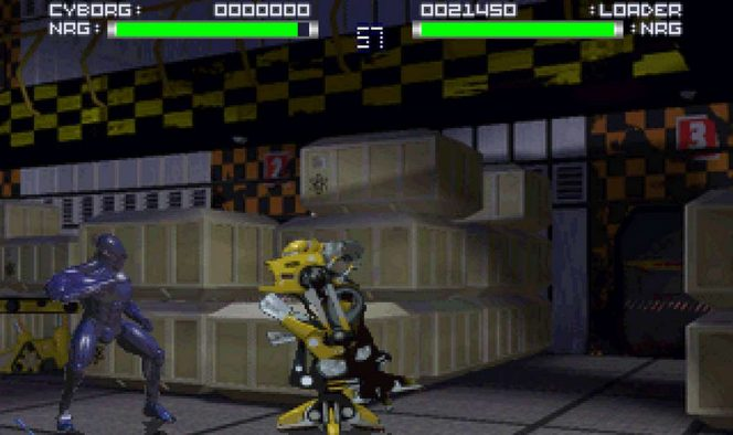 Rise of the Robots SNES videogame