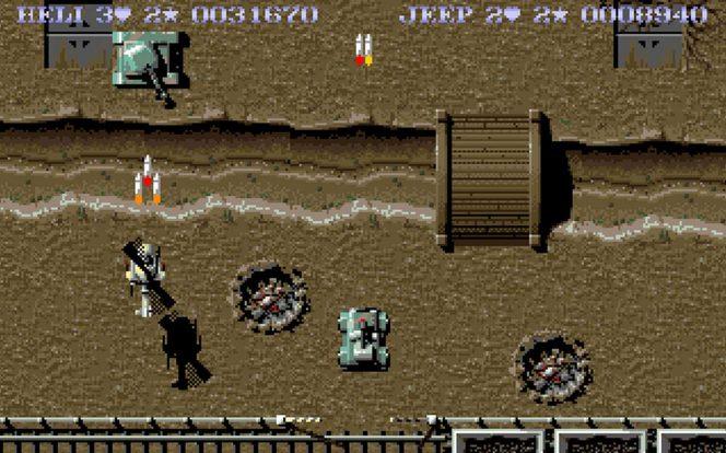 SWIV - Amiga trucchi e codici videogame
