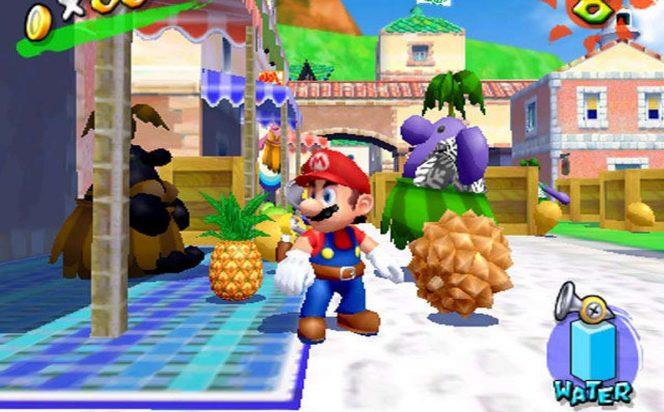 Super Mario Sunshine - Nintendo GameCube trucchi e codici videogame