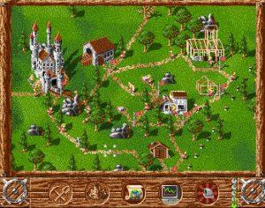 The Settlers - Amiga codici delle missioni schermata