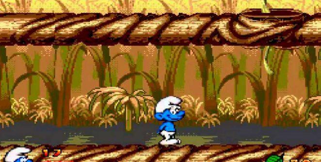 The Smurfs - Mega Drive password e trucchi videogame
