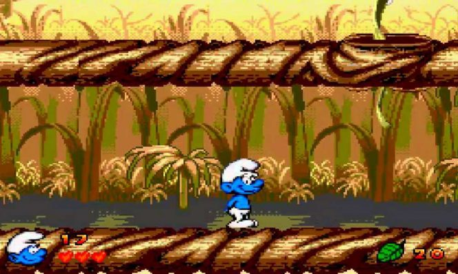 The Smurfs - Mega Drive password e trucchi videogame